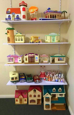 Sylvanian Families Storage shelves ideas