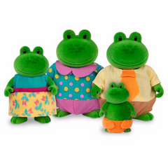 L'il Woodzeez Frog Family