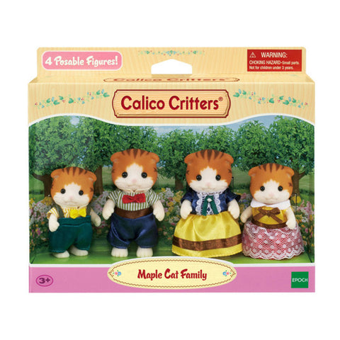 Sylvanian Families Maple Cat family on sale