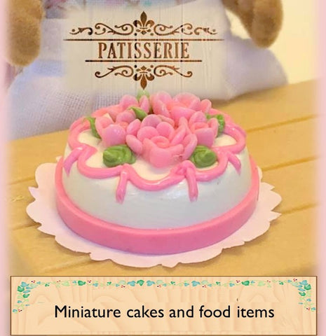 Sylvanian Families accessories miniature food items for dollshouses