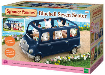 Sylvanian Families Blue Bell seven seater car