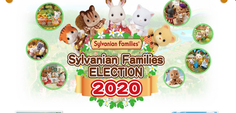 Sylvanian Families 35th Anniversary vote
