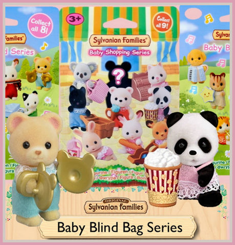 Sylvanian Families Blind bags shopping band party