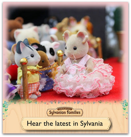 Sylvanian Families news red carpet gala glamour