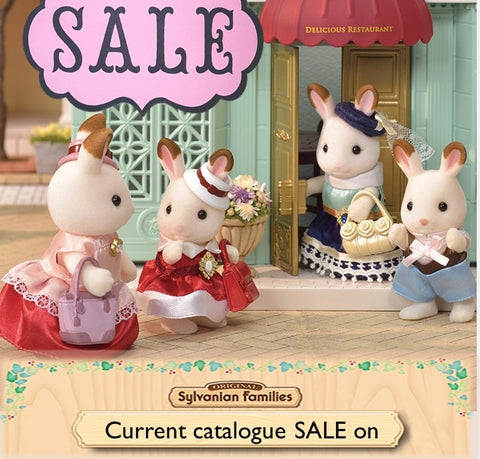 Sylvanian FAmilies Current Catalogue sale