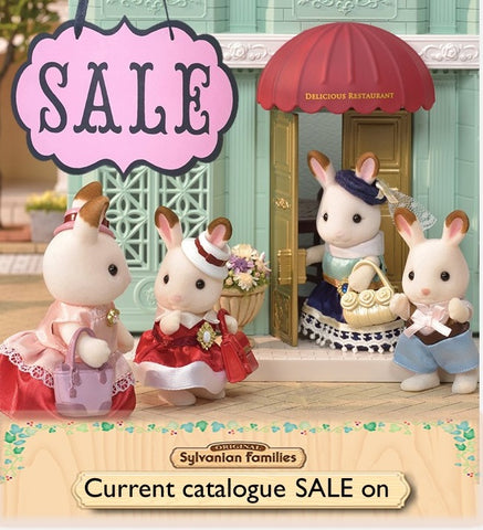 Sylvanian FAmilies of all kinds