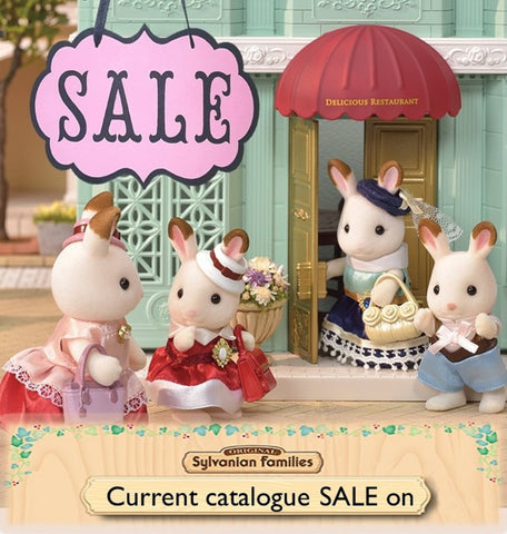 Sylvanian FAmilies current catalogue sale items