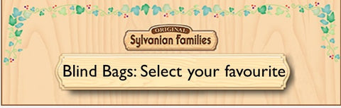Sylvanian Families find your favourite Blind bag set