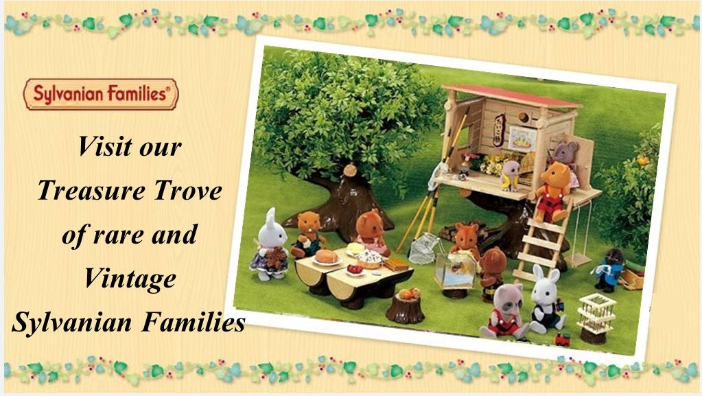 Sylvanian FAmilies vintage and rare