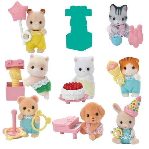 Sylvanian FAmilies party Blind bag series