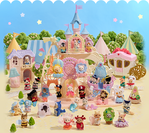 Sylvanian Families Baby Voting Costume Competition 35th anniversary