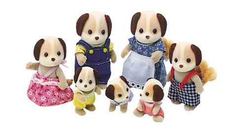 Sylvanian FAmilies Beagle Dog Family