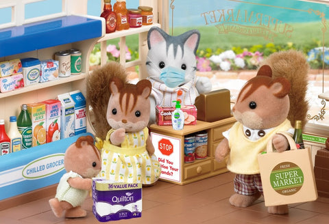 Sylvanian Famlies Shop toilet paper