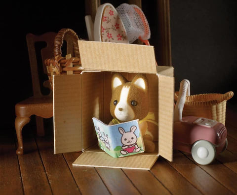Sylvanian FAmilies Huckleberry dog brother