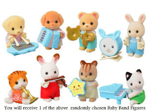 Sylvanian Families Baby Band Series Mystery Bag randomly chosen