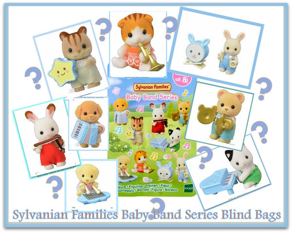 Sylvanian Families Baby Band Series instruments blind bags