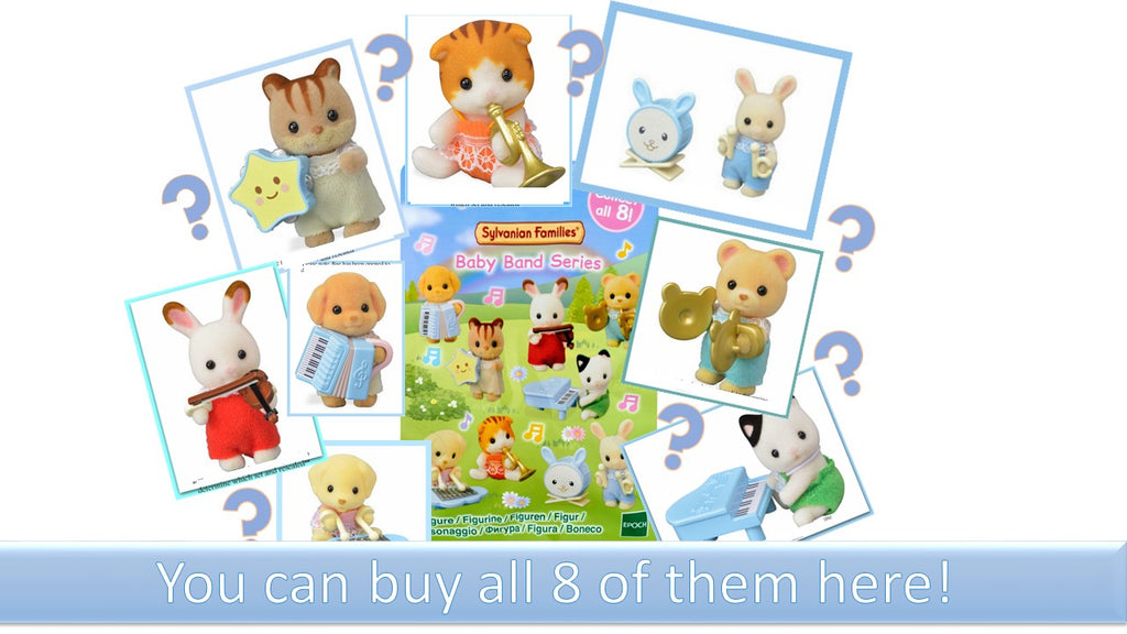 Sylvanian FAmilies Blind bags buy all 8