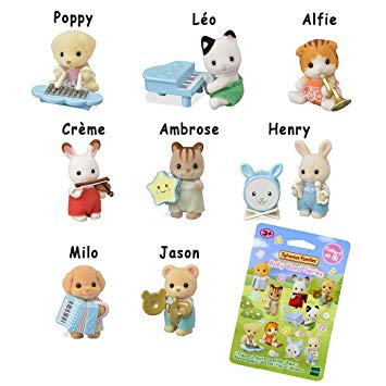 Sylvanian Families Baby Blind bag collection of 8
