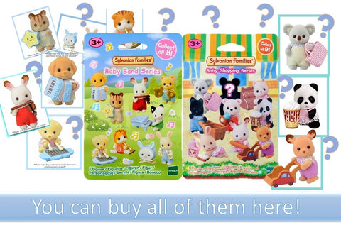Sylvanian Families Blind bags mystery packs