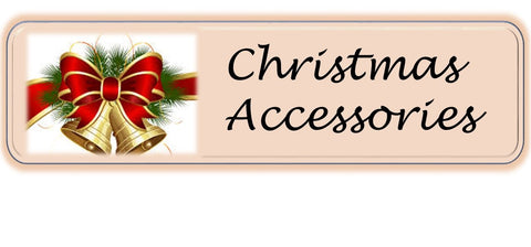Christmas accessories in miniature dollshouse