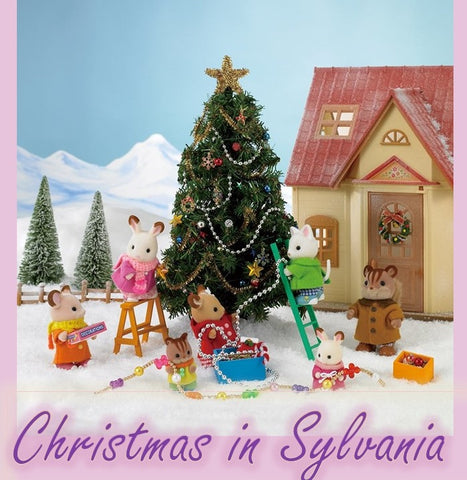 Sylvanian Families Christmas trees and more