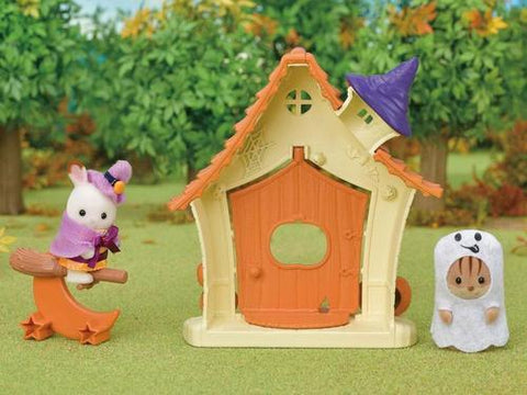 Sylvanian FAmilies Halloween haunted cottage