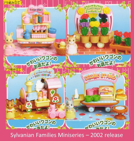 Sylvanian Families Toy shop kabaya miniature set rare