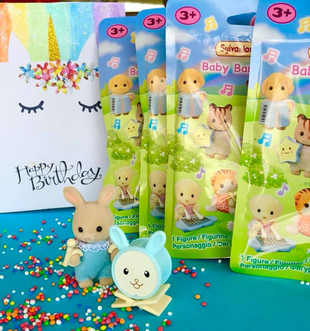 Sylvanian Families Loot bags party ideas