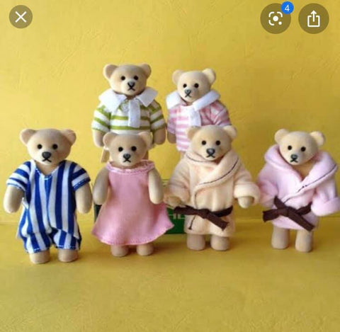 McDonalds happy meal bears like Sylvanian Families
