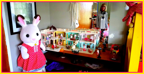 Sylvanian Families large collection belonging to Cate, Australia