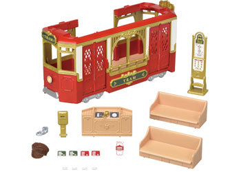 Sylvanian Families Ride A long tram