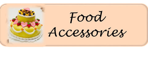 Food Accessories Sylvanian Families size 12th scale