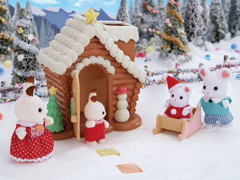 Sylvanian FAmilies gingerbread playhouse cottage Christmas