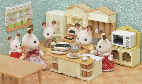Sylvanian Families latest White Country kitchen sets