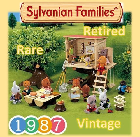 Visit our stores vintage Treasure Trove of Sylvanian Families items