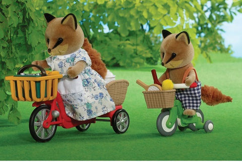 Sylvanian Families Fox bike ride