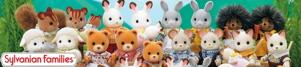Sylvanian Families past and present
