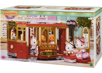 Sylvanian Families Tram about town