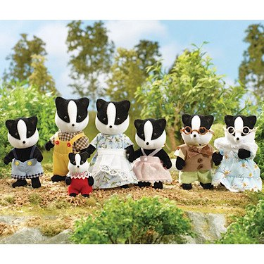 Sylvanian Families Badger Family celebration