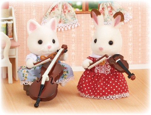 Sylvanian Families Concert Violin and Cello music gift ideas