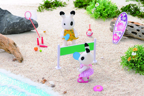 Sylvanian Families Blackberry rabbit volleyball