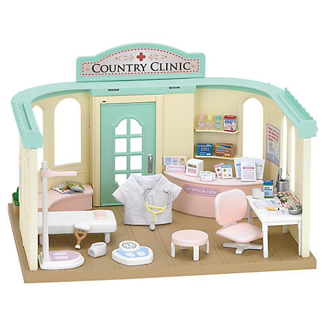 Sylvanian Families Country Hospital medical set