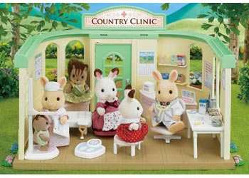 Sylvanian Families Country Clinic Hospital Medical