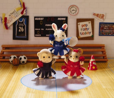 Sylvanian Families Cheerleaders