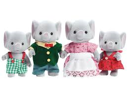 Sylvanian Families Elephant Family in stock