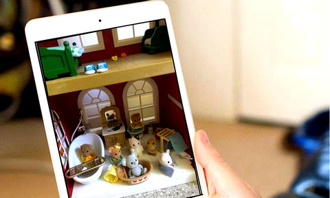 Sylvanian FAmilies on FAcetime