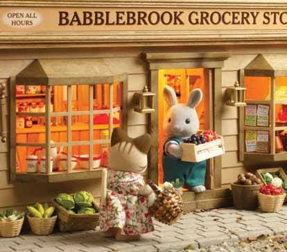 Image result for sylvanian vintage babblebrook