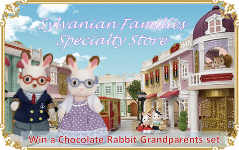 Sylvanian Families win prizes competitions giveaways Win a Chocolate Rabbit Grandparents set