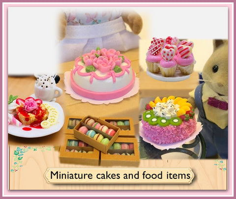 Miniatures for Dollshouse and Sylvanian Families