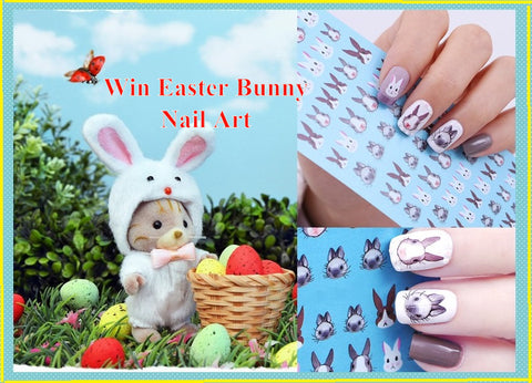 Sylvanian Families win prizes Easter bunny Nail Art giveaway